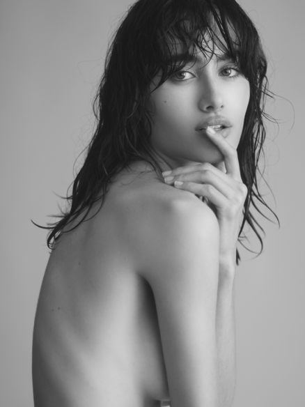 Female fashion model Alexandra Lamas