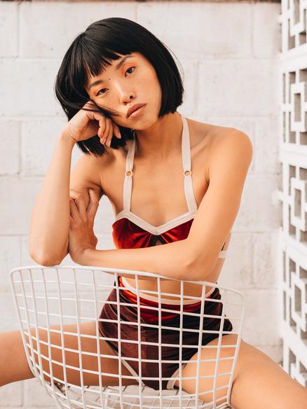 Asian Model Angel Lin