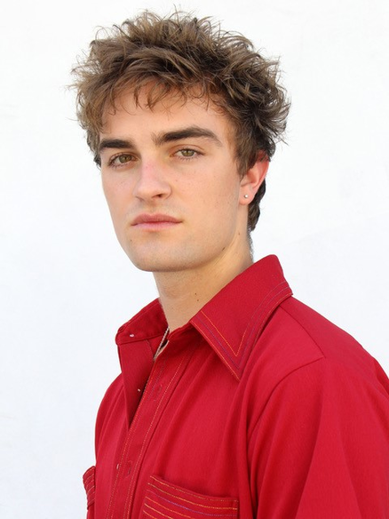 brunette male model