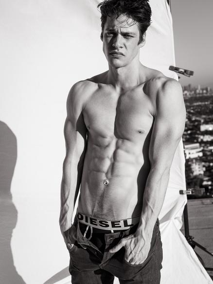 Male Model Trent Culkin