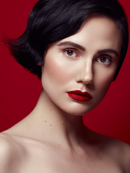 Short Hair Model Lucy Lawrence