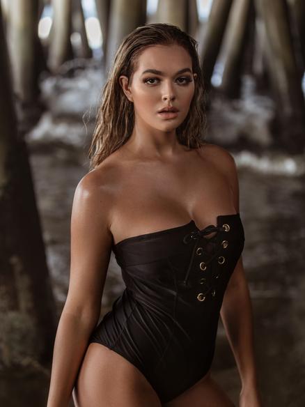 Swimwear lifestyle model AnnaNoel
