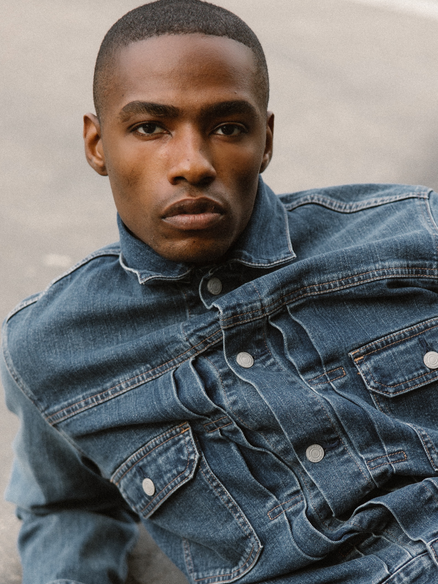 African American Male Model Michael French