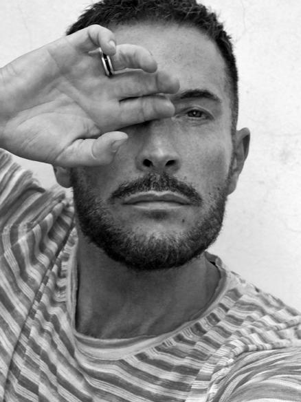 Italian male model photographer Marco Marezza