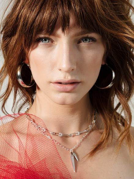Beauty Model Crystal van Commenee