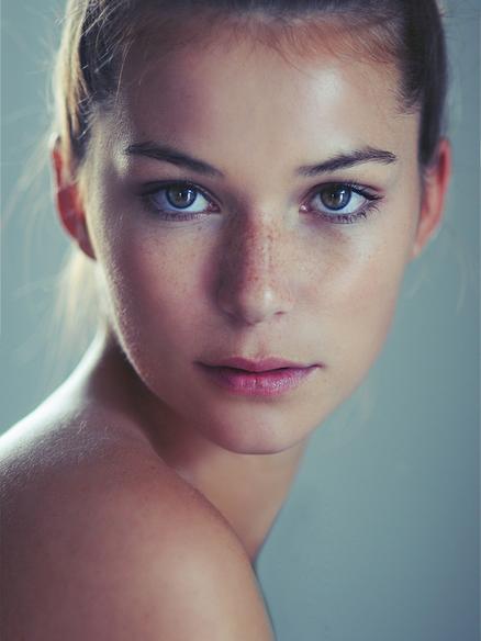 Brunette Model Abbey Weiss