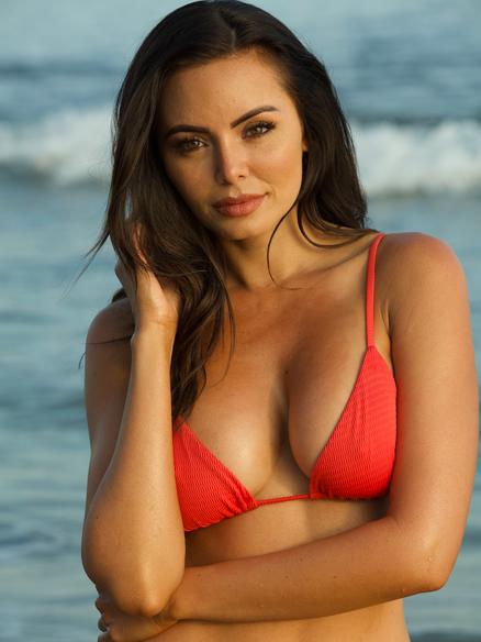 Guess model Emelina Adams