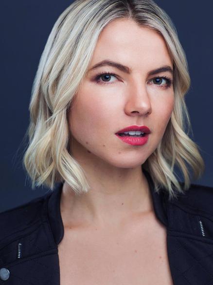 Blonde Model Natalie Korzon
