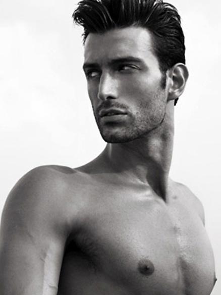 Italian Male Model Davide Giliberti