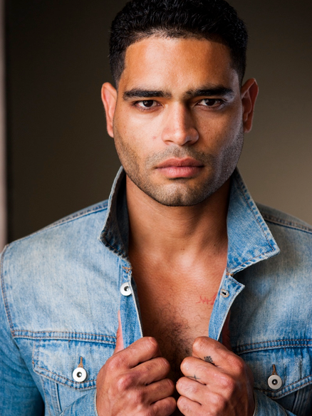 Male Latin Actor Elvis Rivera