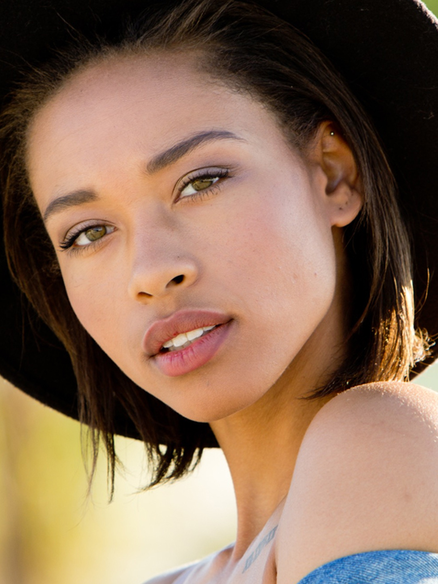 African American Model Janalyn Guillory-Perez