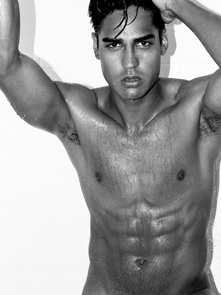 Latino Male Model Ramiro Sanchez
