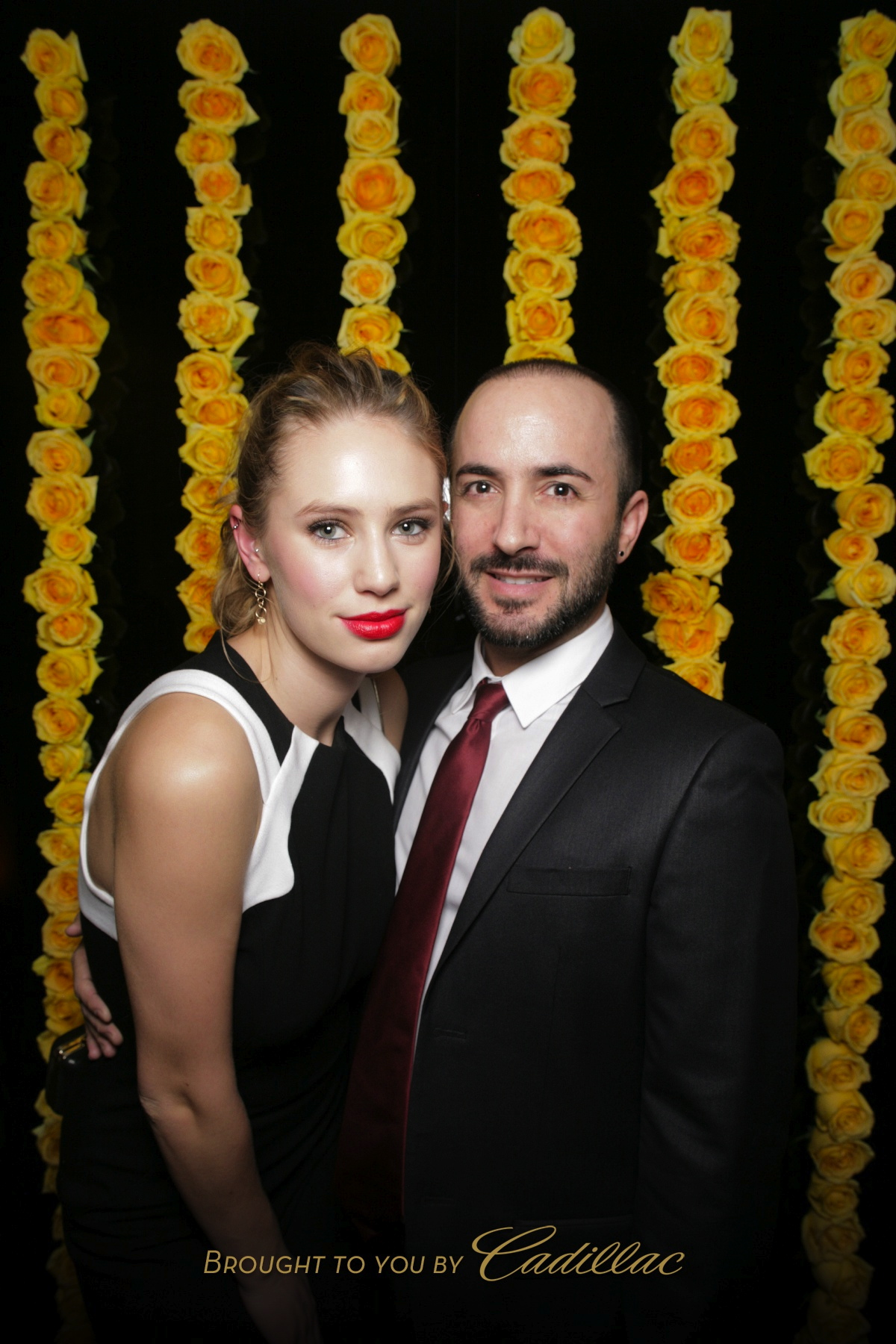 Dylan Penn + David at the W Magazine Party 2014