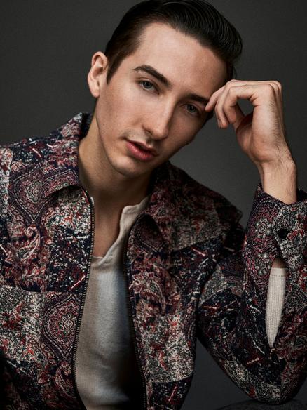 Male Model Dirk Plumier