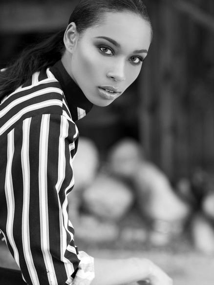 African American Model Janalyn Guillory-Perez