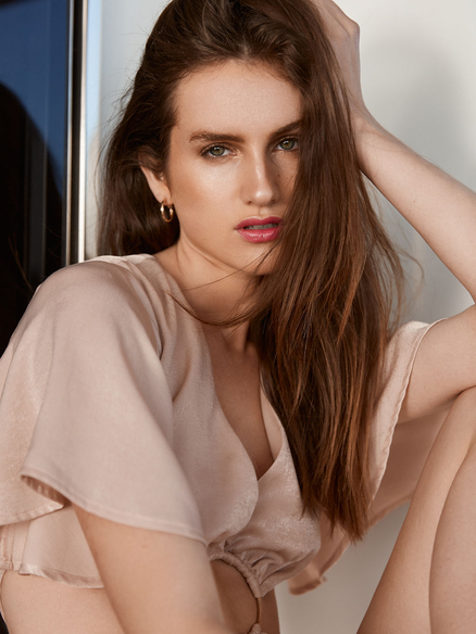 High fashion model Claire Walters
